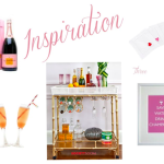 Weekender: A Champagne Inspired Bar Cart