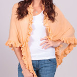 GIVEAWAY: Minnie Rose Cashmere Ruffle Shawl From Rapunzel's Closet – Valued At $319!