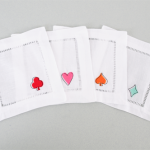 GIVEAWAY: Sign Up To Win A Set Of Palm Beach Lately Cocktail Napkins By Pioneer Linens On The Party Dress