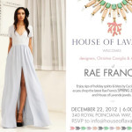 Style: Rae Francis Spring 2013 Collection At House Of Lavande