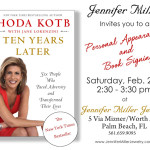 Living: Meet Hoda Kotb At Jennifer Miller Jewelry This Saturday