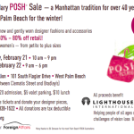 Living: POSH Palm Beach Sale This Thursday And Friday!