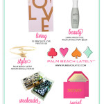 Style: Palm Beach Lately's Valentine Feature on Small Shop