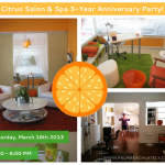 Social: Citrus Salon And Spa 3 Year Anniversary Party!