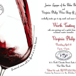 Social: Junior League And Virginia Philip Wine Pairing Party!