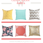Living: Sunny Spring Pillows From Caitlin Wilson Textiles