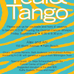 Reminder: Join Us For Teal & Tango This Friday At Alex And Ani To Benefit H.O.W. Hearing The Ovarian Cancer Whisper