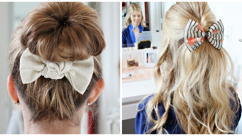 Beauty: How Sisters Wear Bows Two Ways