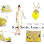 Kate Spade Lemonade