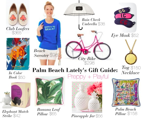 Palm Beach Gift Guide Preppy + Playful