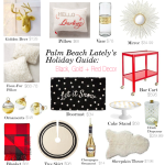 Holiday Guide: Black, Gold + Red Decor