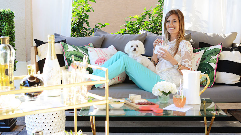 Beth's At Home Style: Al Fresco Entertaining with West Elm