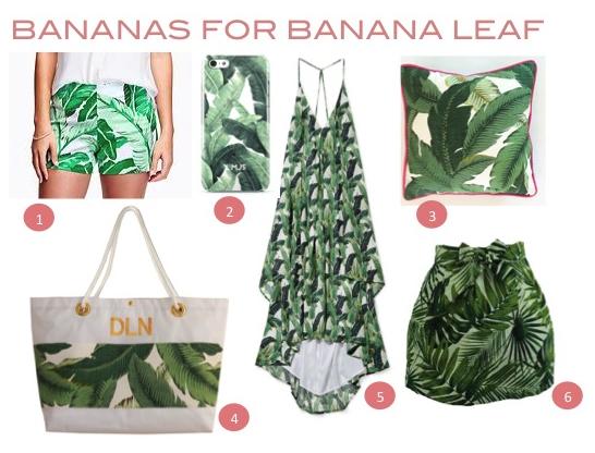 Bananas For Banana Leaf