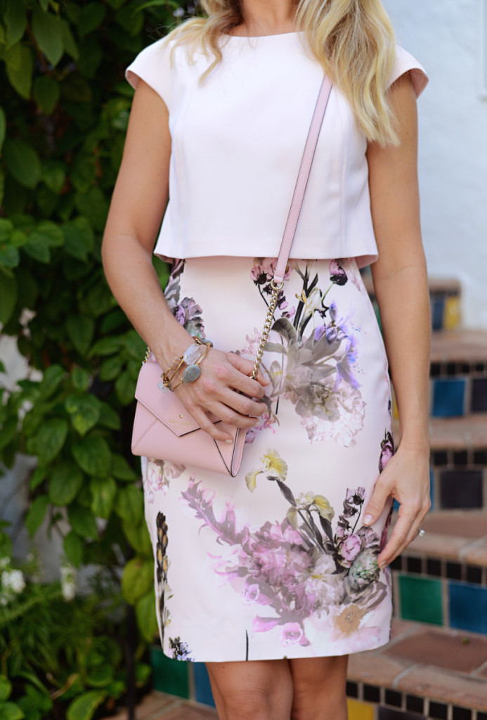 floral_dress_pink_bag_bangles_worth_avenue