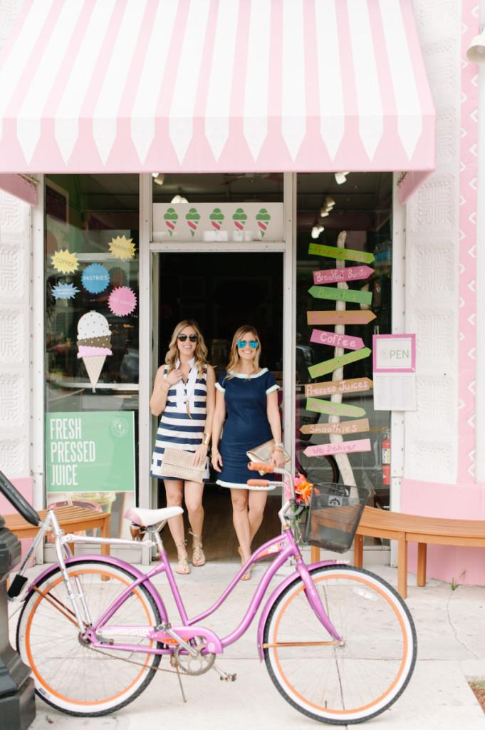 palm_beach_lately_fashion_sail_to_sable_tunic_dress_spring_ice_cream_pink_bike
