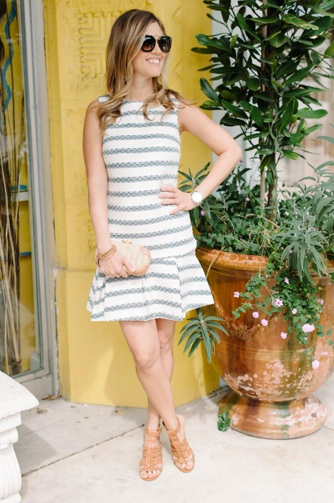 palm_beach_sail_to_sable_spring_fashion_stripes_dress_clutch