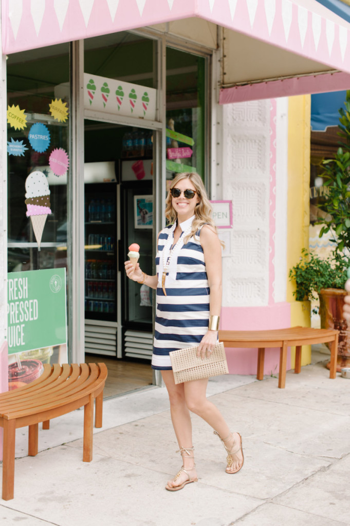 palm_beach_lately_fashion_sail_to_sable_tunic_beaded_horn_necklace_gold_clutch_spring_ice_cream