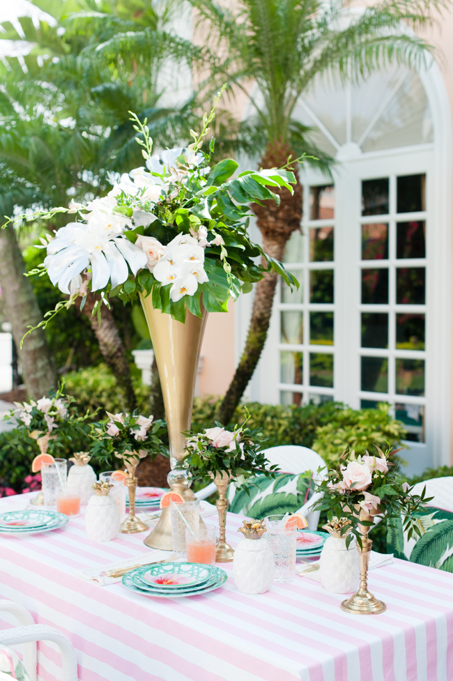 carleton_varney_frontgate_palm_beach_lately_the_colony_hotel_brunch_ banana_leaf_palm_leaves_pink_mint_green_mothers_day