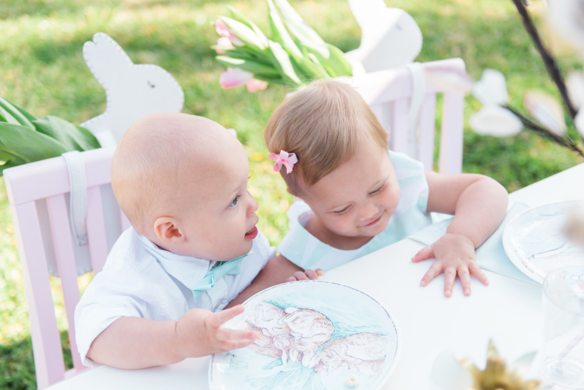 Palm Beach Lately Celebrates Easter with Pottery Barn Kids