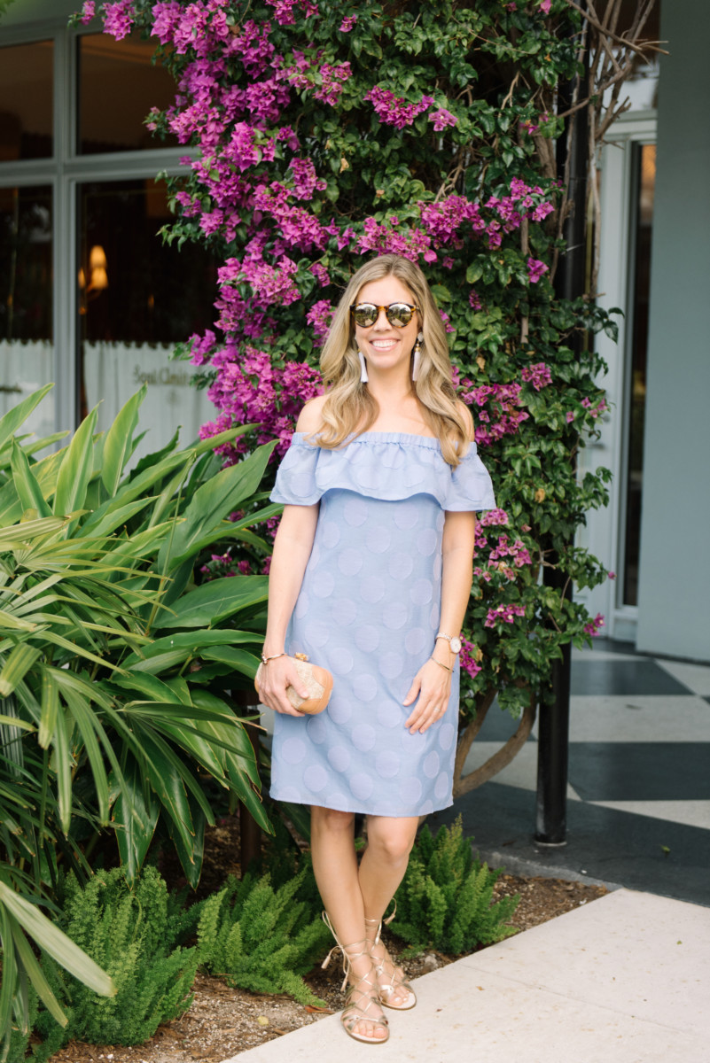 Palm Beach Lately Wearing Sail to Sable at The Royal