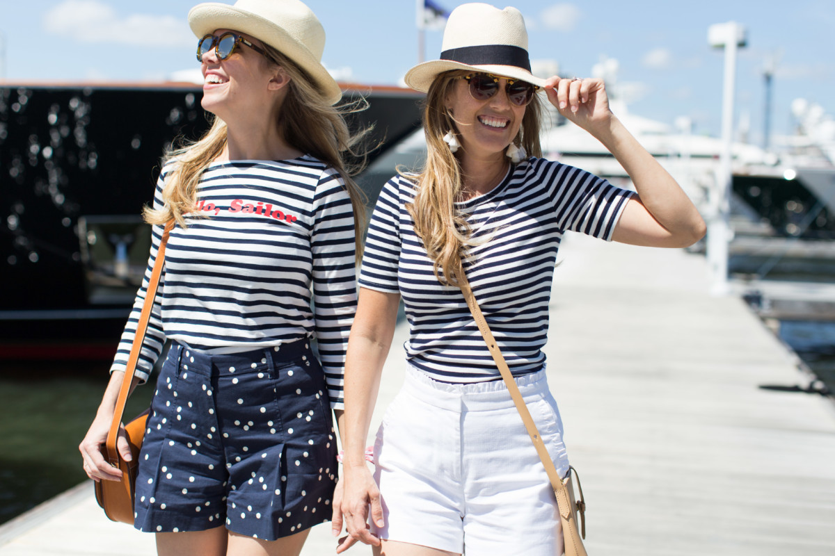 Palm Beach Lately in J. Crew Stripes