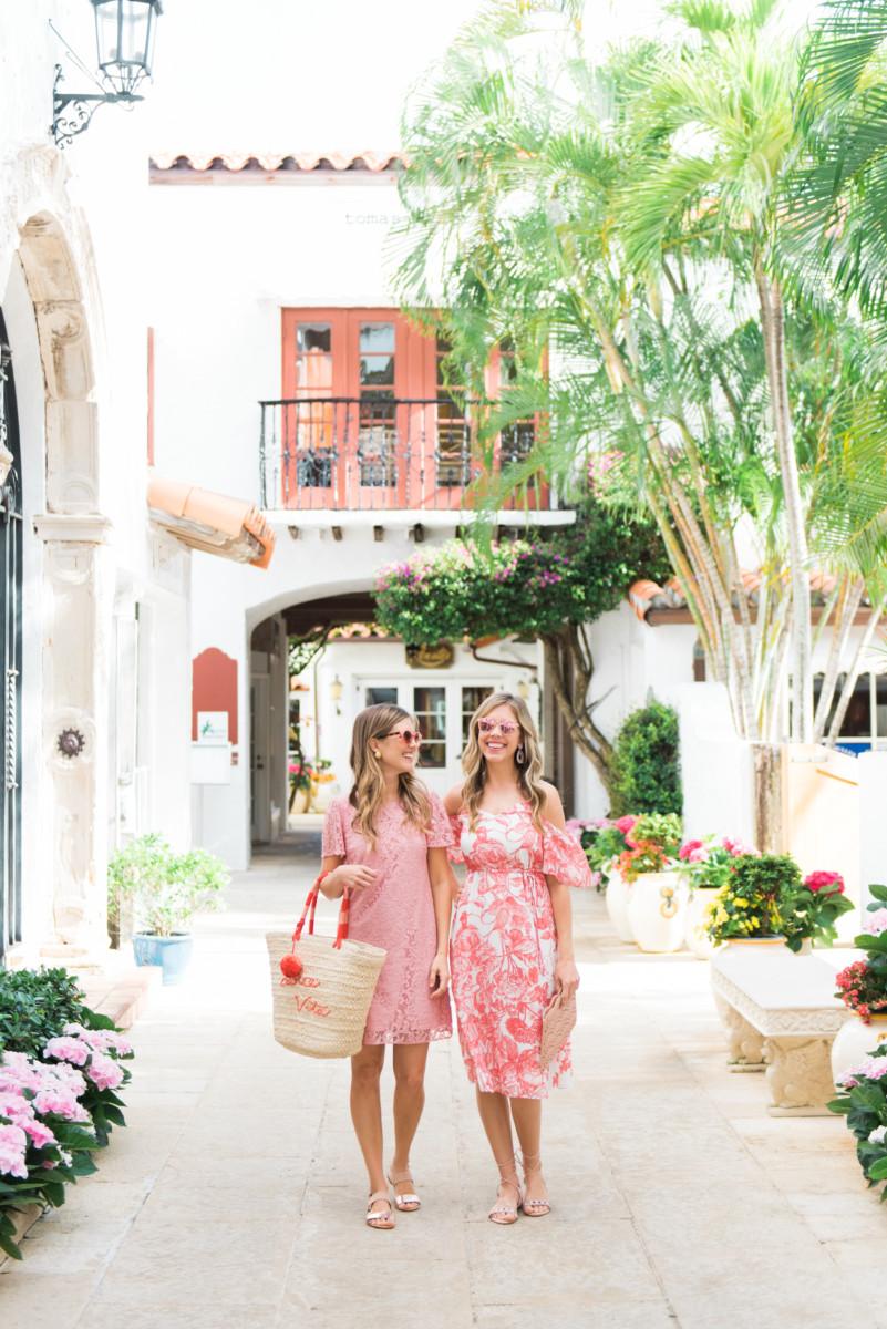 Palm Beach Lately Wearing LOFT on Worth Avenue