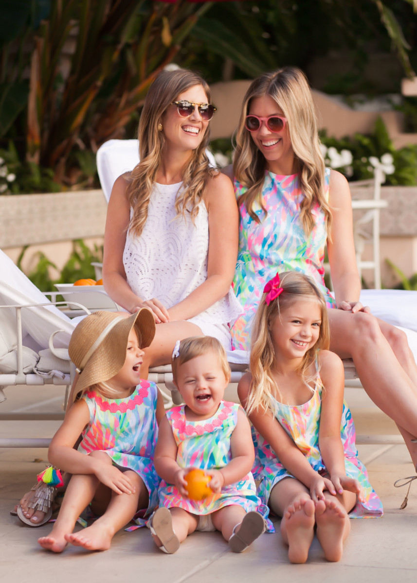 Palm Beach Lately Wearing Lilly Pulitzer for Mother's Day