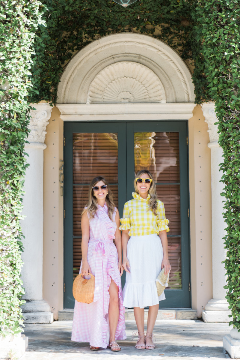 Palm Beach Lately in Gingham by Elizabeth Wilson Designs