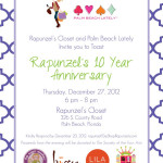 You're Invited: Rapunzel's 10 Year Anniversary Event