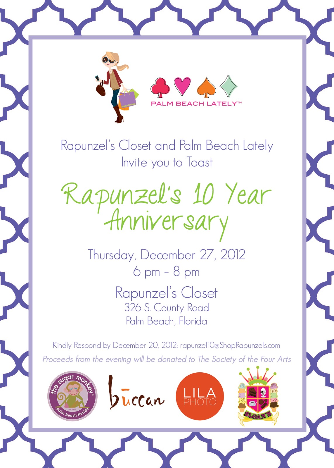 Youre Invited Rapunzels 10 Year Anniversary Event Palm Beach Lately