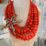 Sequin Pick of the Week: Red Beaded Starfish Necklace