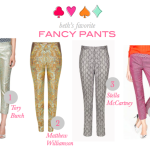 Social Style: Beth's Favorite Fancy Pants