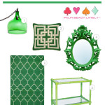 Living Lately: Add A Splash Of Emerald Green