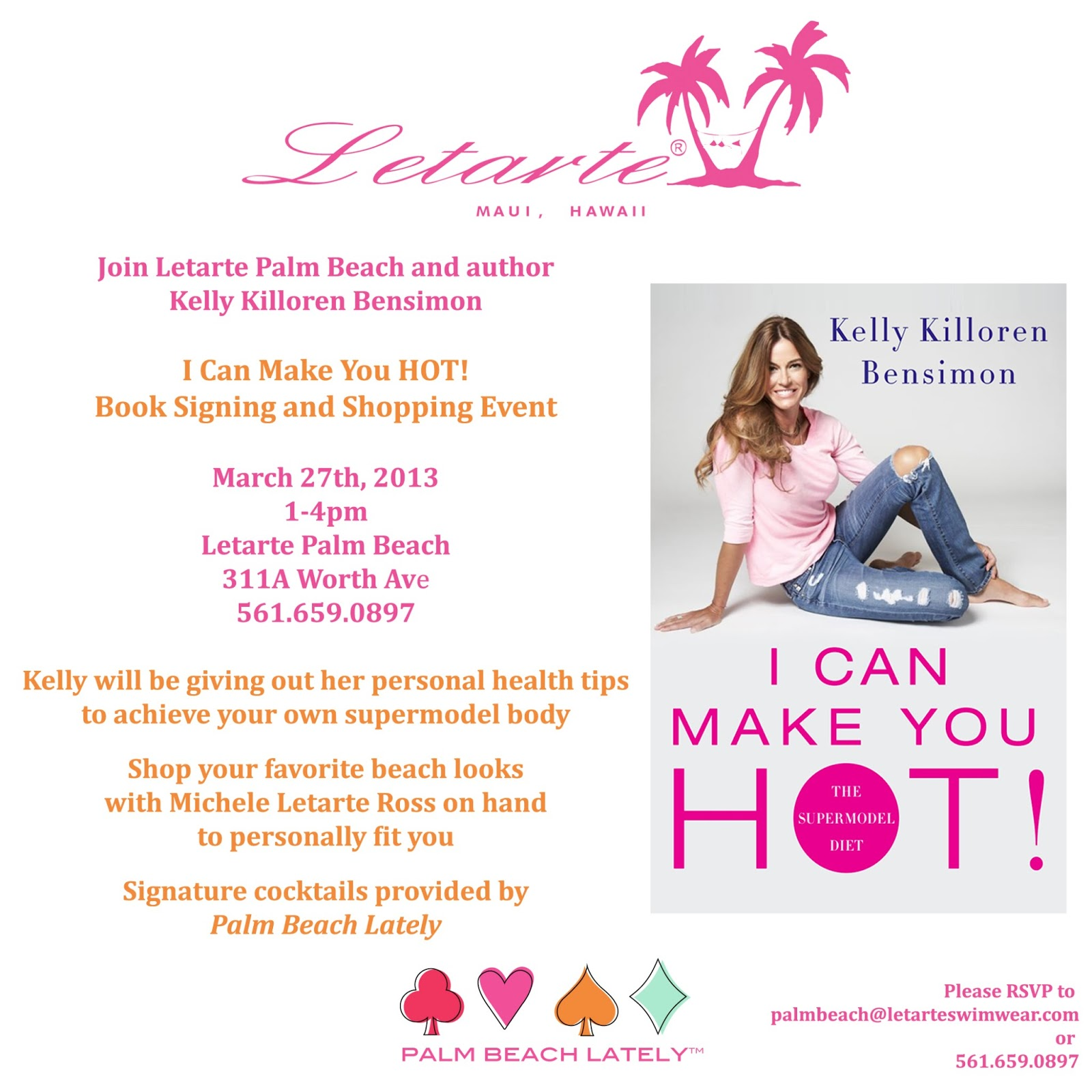 Beauty Get Hot With Kelly Killoren Bensimon At Letarte