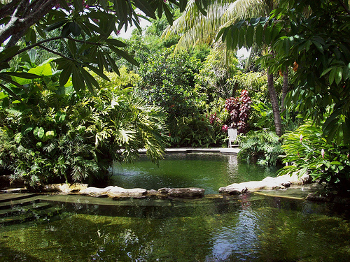 The Sundy House Can Accommodate It Offers 11 Uniquely Themed Guest Accommodations That Are Hidden Throughout Their Acre Of Tropical Gardens And Ponds