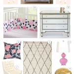 Living: Danielle's Nursery Design For Baby Number Two!