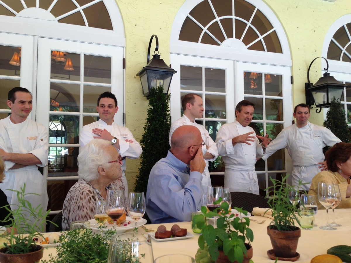 Living The Return Of Chef Daniel Boulud S Pop Up Boulud Sud Palm