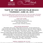 Social: Help Fight Childhood Hunger With Taste Of The Nation