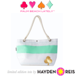 Introducing Palm Beach Lately's Limited Edition Hayden Reis Tote!