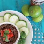 Living: Strawberry Mojitos + Black Bean Dip With The Kitchen Prep
