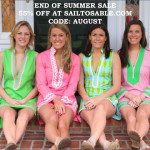 Weekender: Shop Sail To Sable's End Of Summer Sale