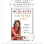 Hoda Kotb Book Signing at Jennifer Miller Jewelry