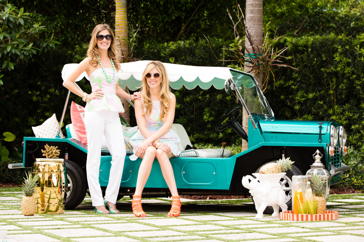 Style Lilly Pulitzer Springs Into Palm Beach Palm Beach