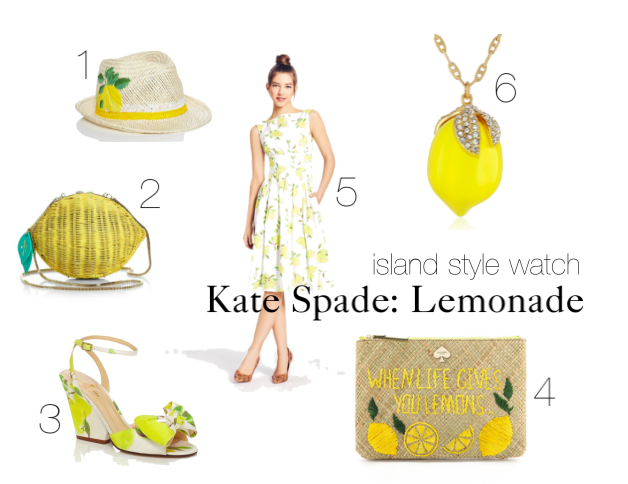 island style watch kate spade lemon