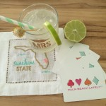 "Giveaway: Palm Beach Lately ""Sunshine State"" Cocktail Napkins by Lettermade"