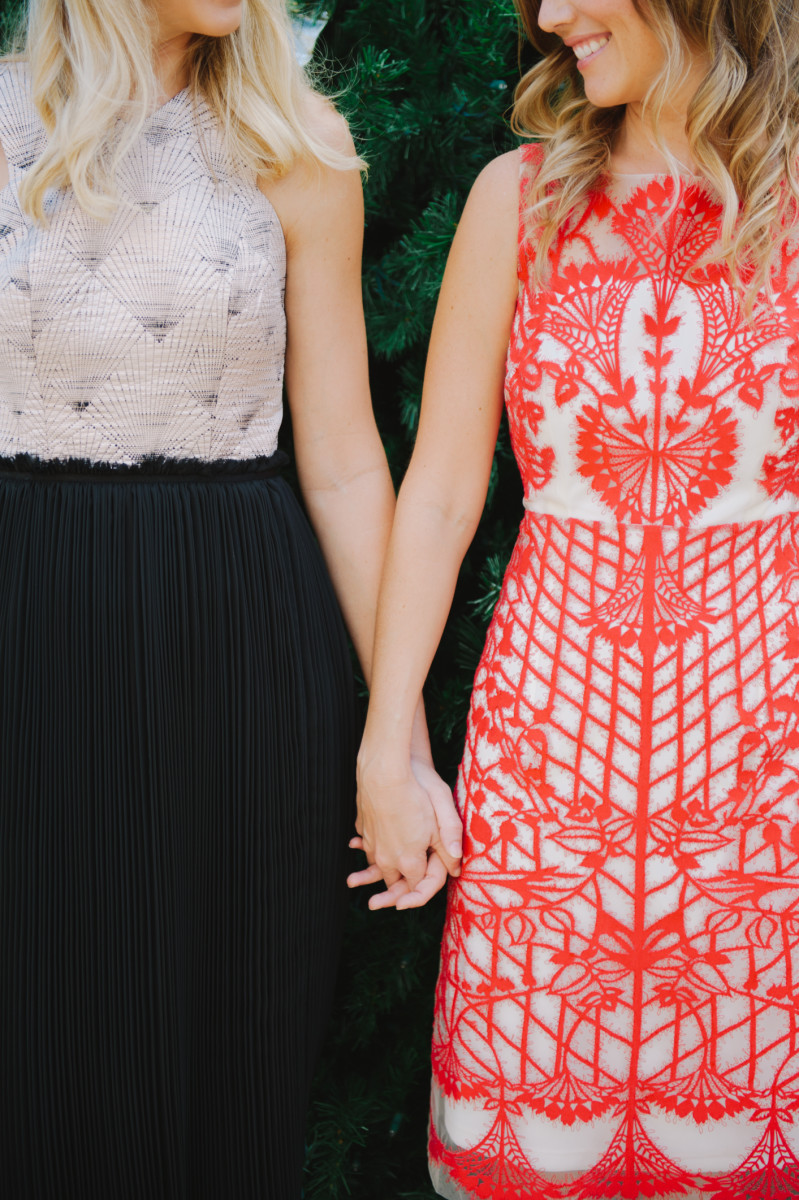 Style Our Two Favorite Anthropologie Holiday Dresses