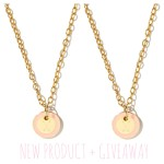 Giveaway: Win Palm Beach Lately x Cinco Powell's NEW Arrow Mini Tag Necklace in Blush For You AND Your BFF