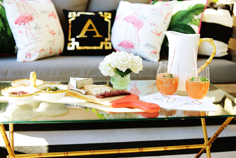 Beth s At Home Style: Al Fresco Entertaining with West Elm Palm Beach Lately