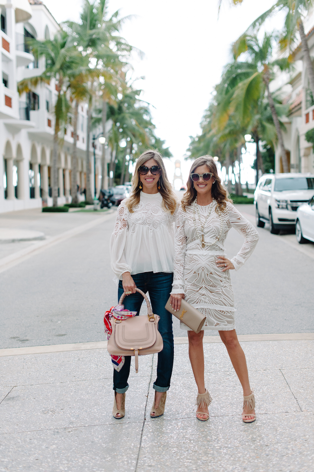 Fashion White On Worth Avenue With Neiman Marcus Palm
