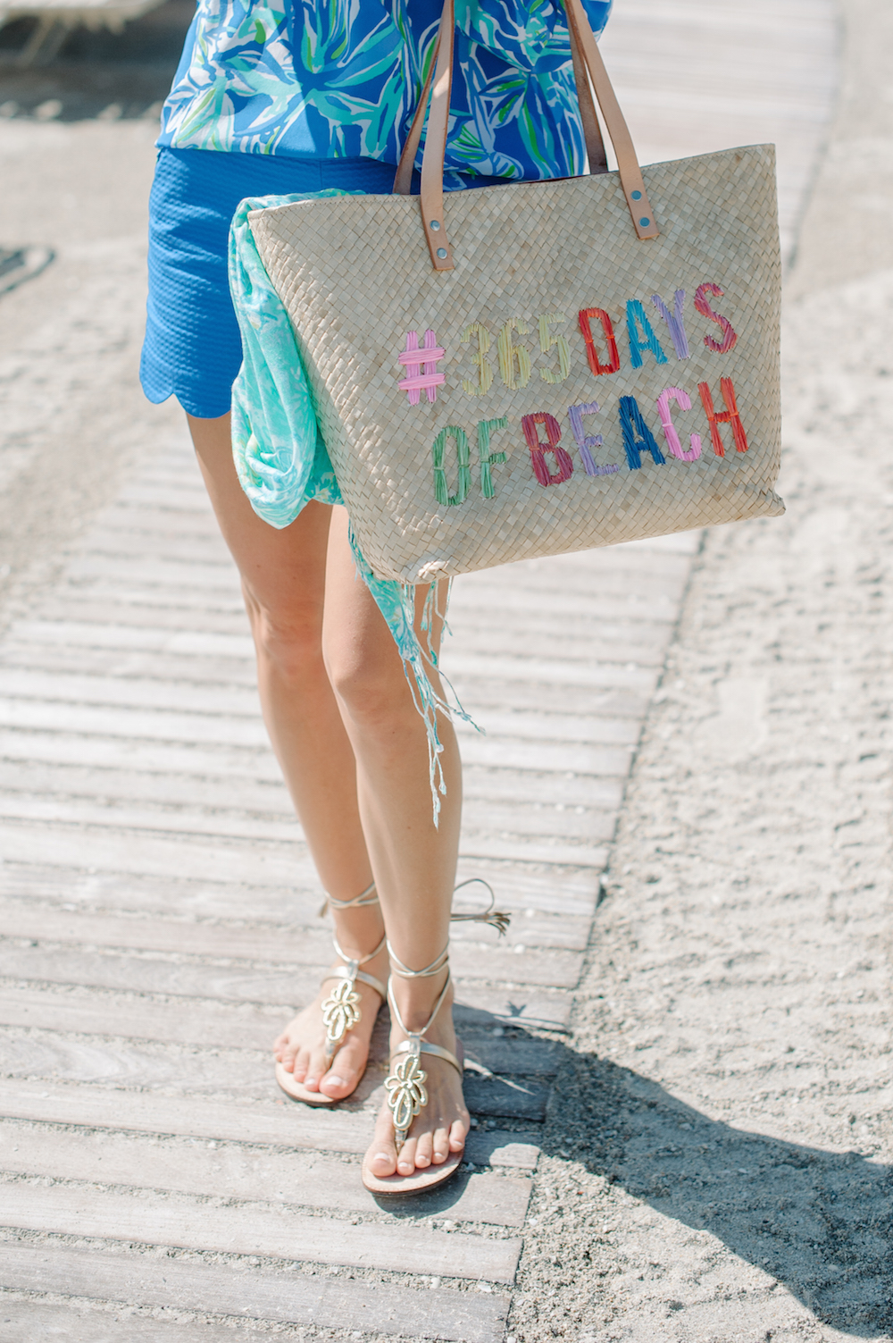 vacation_ocean_blue_the_breakers_palm_beach_lilly_pulitzer_fashion_gladiator_sandals_tote